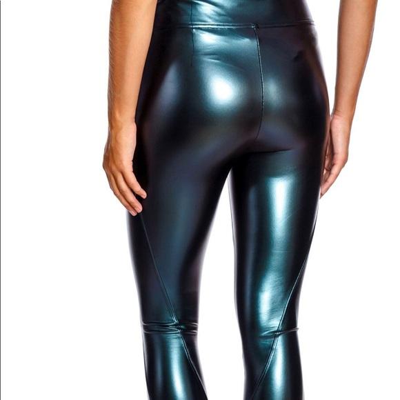 SPANX Pants - Spanx oil slick liquid leggings
